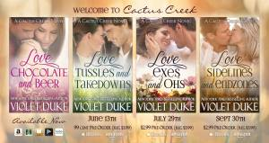 Violet Duke - Cactus Creek banner