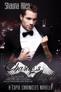 http://www.amazon.com/Charlies-Angel-Cupid-Chronicles-Novella-ebook/dp/B00IDKY1EU/ref=sr_1_8?ie=UTF8&qid=1392174896&sr=8-8&keywords=shauna+allen