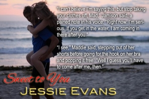 Sweet to You_Jessie Evans
