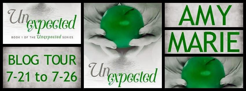 UNEXPECTED by Amy Marie ~ Blog Tour, Excerpt, Review,  & Giveaway  (1/6)