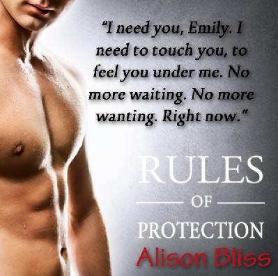 RULES OF PROTECTION (Tangled in Texas #1) by Alison Bliss ~ Release Day Blitz & Review (6/6)